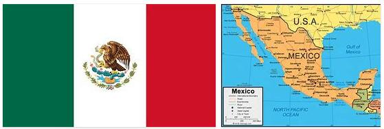 Topography of Mexico